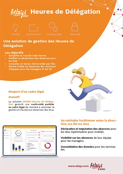 Fiche produit logiciel Altays Heures de délégation