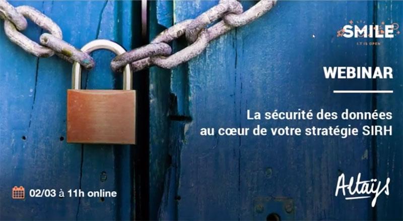 webinaire sécurité des données SIRH