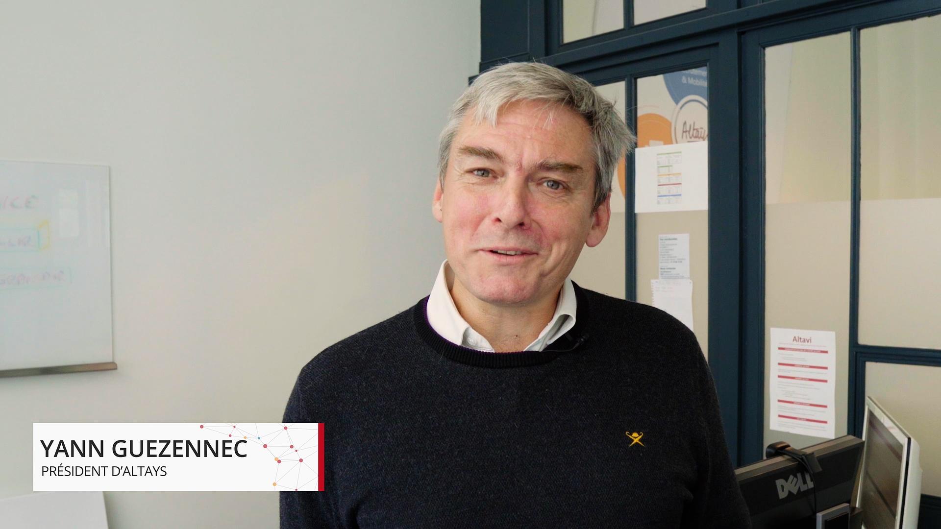 Yann Guezennec, Président d'Altays